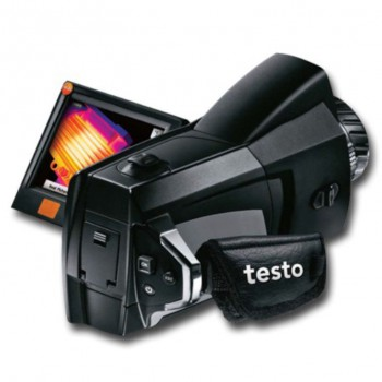 Комплект тепловизора Testo 890-2 c супер-телеобъективом C2 + C0 и опцией V1