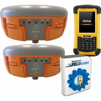 Комплект из двух Altus APS-3 GSM RTK, PS336, FieldGenius