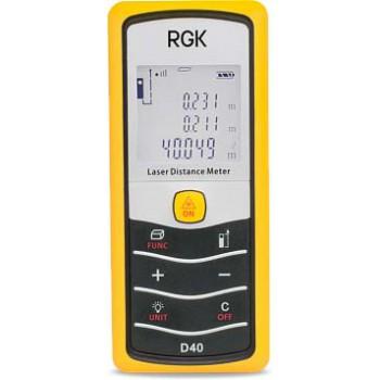 Лазерный дальномер RGK D40