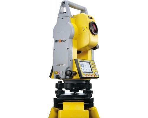 """Электронный тахеометр GeoMax Zoom20 Pro, 3"""", a4 400м"""