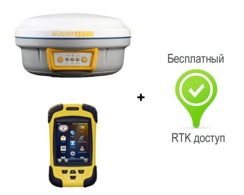 South S82-T GSM с контроллером S10 + RTK доступ